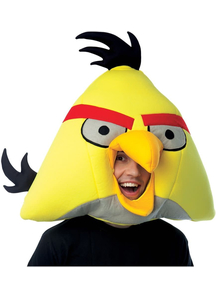 Angry Birds Yellow Mask For Adults