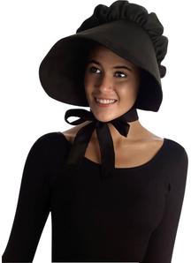 Bonnet Black For Adults