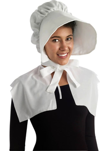 Bonnet White For Adults