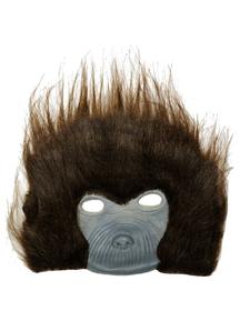 Chimp Plush Mask For Adults