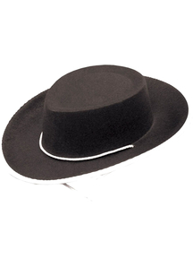 Cowboy Hat Black For Children