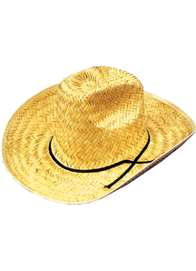 Cowboy Hat Straw For All