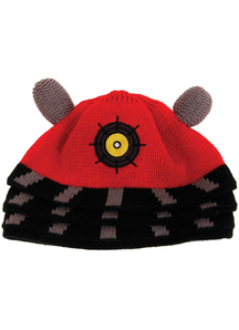 Doctor Who Dalek Beanie Red For All
