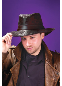Fedora Black For Adults