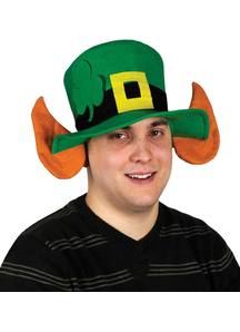 Felt Leprechaun Hat W/Ears For Adults