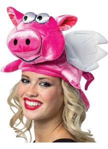 Flying Pig Hat For All