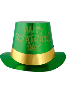 Glittered St Patricks Day 5 Pk For Adults