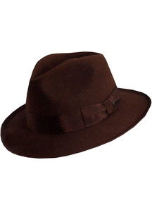 Indiana Jones Deluxe Hat Med For All