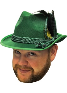 Octoberfest Hat Green For All