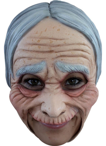 Old Lady Adt Chinless Adt Mask For Adults