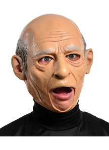 Old Man Latex Mask For Adults