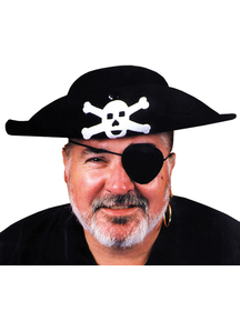 Pirate Hat Quality Small For Adults