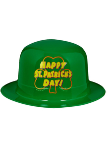 Plastic Hat For St Patricks Day! 5 Pk