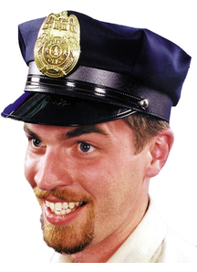 Police Hat Navy 1 Size For Adults