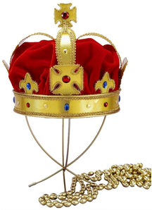 Regal King Crown For Adult