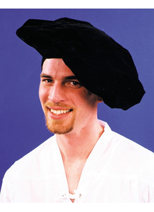 Renaissance Hat Black For All