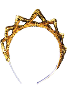 Tiara Sequin Gold For All