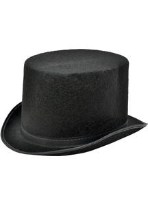 Top Hat Black Felt Large For All