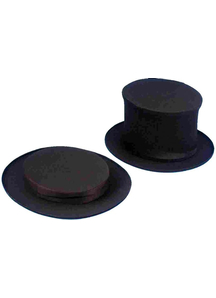 Top Hat Collapsible Blck For Children