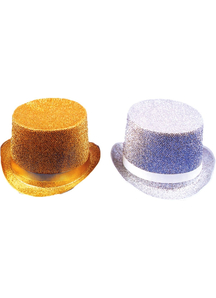 Top Hat Lame Silver For All