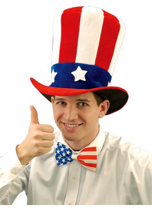 Uncle Sam Felt Hat For All