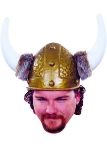 Viking Helmet Gold For All