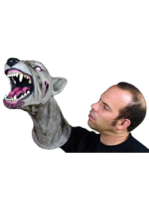 Zombie Dog Arm Puppet Mask For Adults