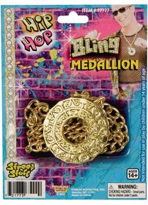 Bling Disco Medallion