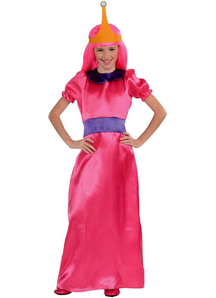 Bubble Princess Child Costume From The Cartoon Adventure Time