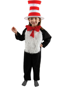Cat In The Hat Deluxe Child Costume