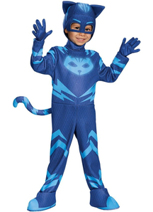 Catboy Deluxe Costume For Children From Pj Masks