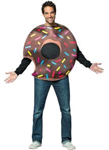 Chocolate Doughnut Adult Costume