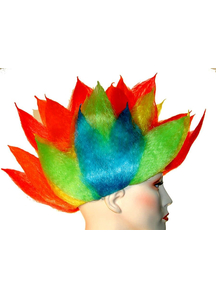 Clown Spike Wig