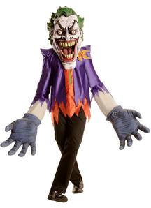 Creepy Joker Adult Costume