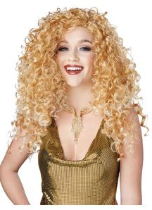 Disco Diva Blonde Wig