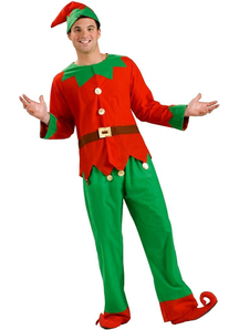 Easy Elf Adult Costume