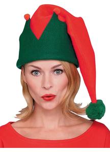 Elf Hat Red/Green