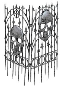 Fence Skull
