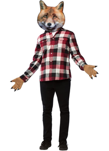 Fox Head With Paws