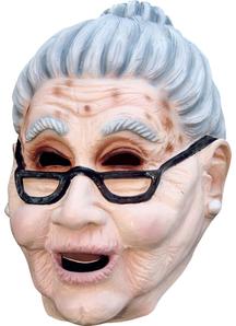 Grandma Latex Mask