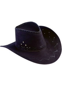 Hat Cowboy Black