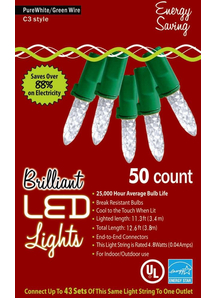 Holiday Lights C 3 Pure White