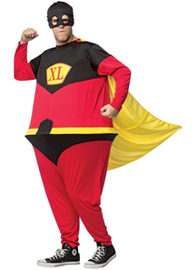 Hoopster Superhero Adult Costume