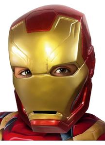 Iron Man 1/2 Mask Child