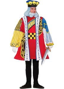 King Of Cards Adult Costume - 20078