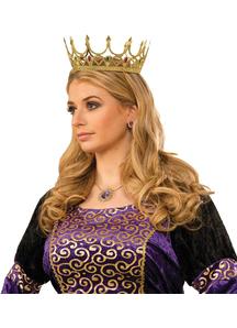 Queen Crown Gold