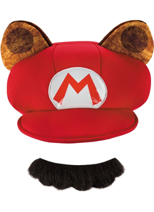 Raccoon Hat And Moustache For Adults