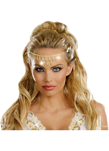 Rhinestone Gold Headpiece