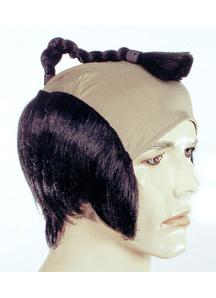 Samurai Wig Black
