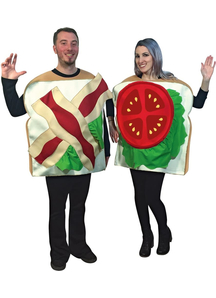 Sandwiches Couples Costume